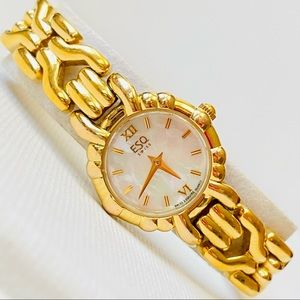 ESQ Esquire by Movado Women's Gold Watch